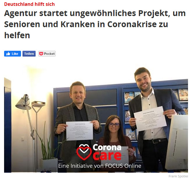 Spottke Team startet Hilfsprojekt