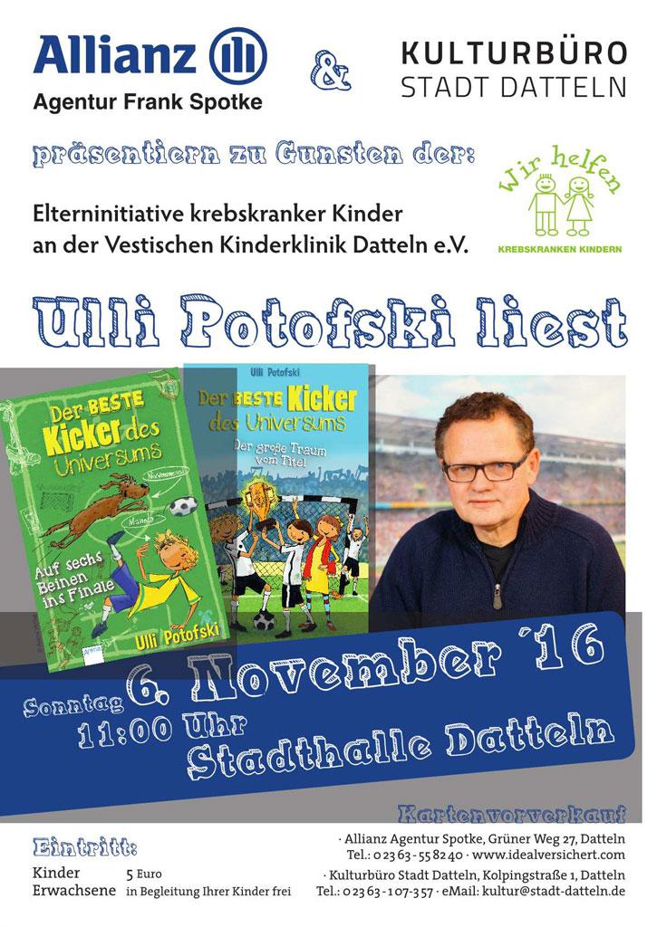 Kinderlesestunde mit Uli Potofski